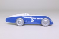 Atlas Dinky Toys 23a; Racing Car; Blue, White Detailing, RN5