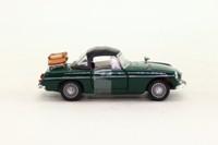 Cararama 25000; MGB; Closed Roadster, Racing Green