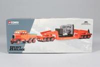 Corgi 17603; Scammell Constructor; Ballast Tractor & Girder Trailer, Siddle Cook, Engine Load