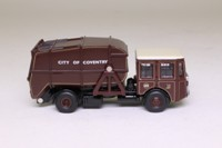 Oxford Diecast 76SD004; Shelvoke & Drewry Dustcart; City of Coventry