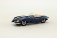 Eligor 1152; 1964 Jaguar E Type; Open Roadster, Metallic Blue