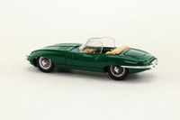Eligor 1152; 1964 Jaguar E Type; Open Roadster; Green