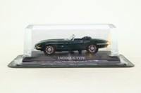 del Prado #01; 1961 Jaguar E-Type; British Racing Green