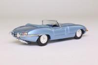 Corgi Classics 98121; Jaguar E-Type; Silver Blue, Open Top
