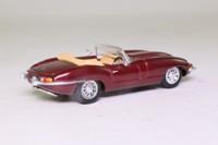 Corgi 02702; Jaguar E-Type; Opalescent Maroon