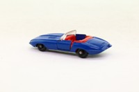 Best Box 2513; Jaguar E-Type Roadster; Blue, Red Seats