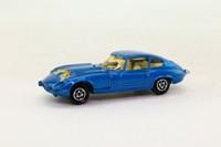 Majorette 207; Jaguar E-Type 2+2; Metallic Blue