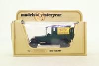Models of Yesteryear Code 3; 1926 Talbot Van; HCVC Chiltern Branch