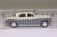 Vanguards VA19008; Rover P4; 100, Ivory and Grey, JNX124