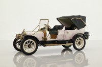 Franklin Mint; 1912 Packard Victoria Model 1-48; White, Black Chassis