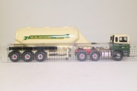 Corgi Classics 74904; ERF EC Artic; Powder Tanker: WR Wood (Haulage) Ltd