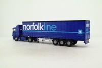 Corgi 76402; Scania 4 Series; Artic Curtainside; Norfolk Line