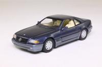 Detail 233; Mercedes-Benz 320SL Coupe; Metallic Blue