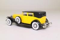 Solido 4055; 1929 Cord L-29 Sedan; Yellow & Black
