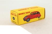 Atlas Dinky Toys 24K; Peugeot 402; Red
