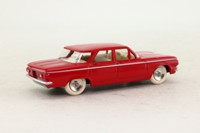 Atlas Dinky Toys 552; Chevrolet Corvair; Red, Cream Seats