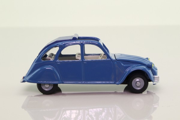 Atlas Dinky Toys 500; 1966 Citroen 2CV; Blue