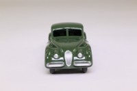 Atlas Dinky Toys 157; Jaguar XK120; Dark Sage Green, Fawn Hubs