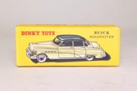 Atlas Dinky Toys 24v; Buick Roadmaster Sedan; Tan, Black Top