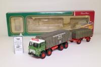 Corgi CC10601; Leyland Mouthorgan Cab; 8 Wheel Flatbed; Caledonian of Dumfries, Sheeted Load
