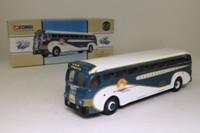 Corgi 98460; Yellow Coach 743; Greyhound Lines, New York World's Fair
