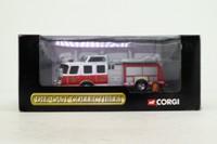 Corgi 54702; Emergency One Fire Truck; Side Mount Fire Pump, Fort Monroe