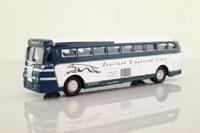 Corgi 53906; Yellow Coach 743; Greyhound Lines, Kansas City