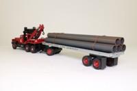 Corgi Classics 55610; Diamond T Ballast Tractor; Wrecker & Trailer, Texaco, Pipes Load