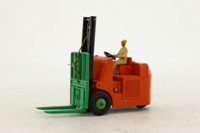Dinky Toys 14c; Coventry-Climax Fork Lift Truck; Orange, Green Forks