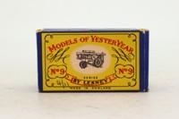 Models of Yesteryear Y-9/1; 1924 Fowler Big Lion Showmans Engine; Purple, Purple Cylinder Block