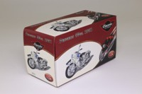 Atlas Editions 4 658 125; 1951 Peugeot 55GL Motorcycle; Cream & Blue