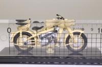 Atlas Editions 4 658 128; 1941 Zundapp KS750 Motorcycle; Cream