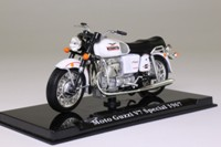 Atlas Editions 4 658 117; 1967 Moto Guzzi V7 Special; White & Black