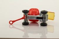 Corgi Small Scale 20-C; Site Cement Mixer; Plated Diecast, Red