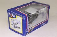 Corgi 94145; BL/Rover Mini; Check Mate; Black & White