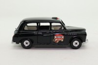 Corgi Toys C425/1; Austin FX4 Taxi (1:36); Black, Computer Cab 286-0-286