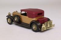 Models of Yesteryear Y-15/2; 1930 Packard Victoria; Gold, Maroon Hood