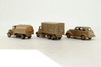 Days Gone Lledo EAL1003; El Alamein 3 Piece Set; Command Vehicle, Staff Car & Tanker in Desert Camo