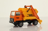 Matchbox King Size K-28/2; Bedford Skip Truck; Hales Containers, Orange, Yellow Skip