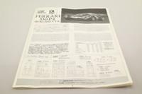 Fujimi 12104; Ferrari 330P4 Berlinetta; 1967 24h Le Mans 2nd; Parkes & Scarfiotti; RN21