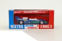 Solido 13; Matra Simca 670; 1972 24h Le Mans 1st; Hill & Pescarolo; RN15