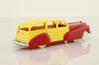 Dimestore Dreams 20060; 1930s Station Wagon; Red & Yellow