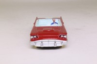 Dinky Toys 555; Ford Thunderbird Convertible; Open Top, Dark Red