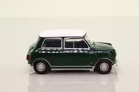 del Prado; 1967 BL/Rover Mini Cooper; Racing Green & White