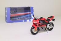 Atlas Editions 4 110 101; Honda Fireblade CBR 1000 RR Motorcycle; Red, Grey