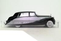 Modelcar Group; Rolls-Royce Silver Wraith Empress by Hooper; Black & Silver