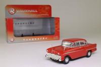 Vanguards VA03800; 1957 Vauxhall Victor FA; Gypsy Red