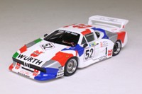 Spark S1583; BMW M1; 1981 Le Mans, Würth-Lubrifilm Team Sauber