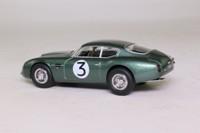 Oxford Diecast AMZ002; Aston Martin DB4 Zagato; 1961 Goodwood TT 4th; Jim Clark; RN3