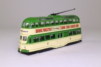 Atlas Editions 4 648 101; Blackpool Balloon Tram; 1950s Livery, Fleetwood/Promenade